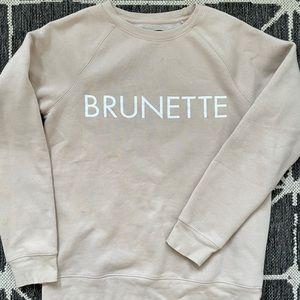 BRUNETTE The Label Sweater